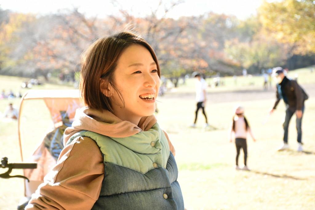 山本晴美インタビュー写真