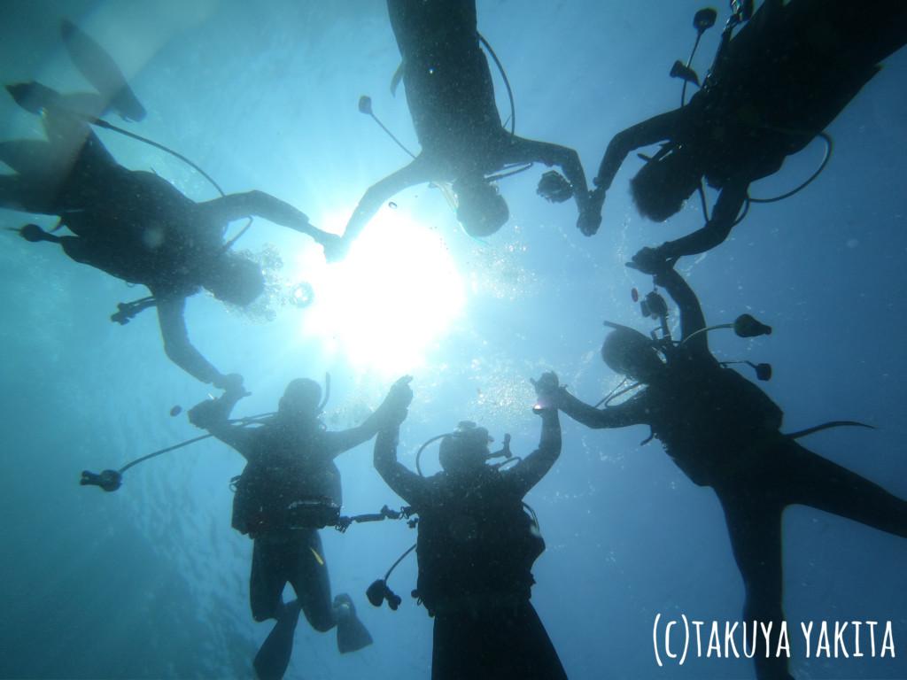 水中動画撮影イメージカット