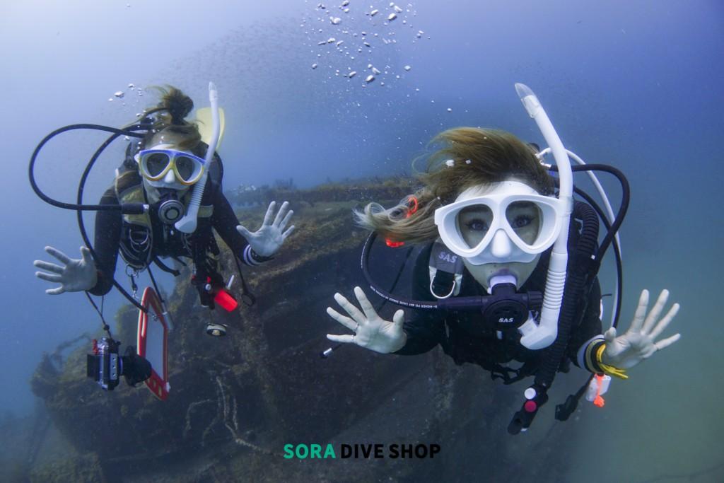 SORA DIVE SHOPダイビング中イメージ写真