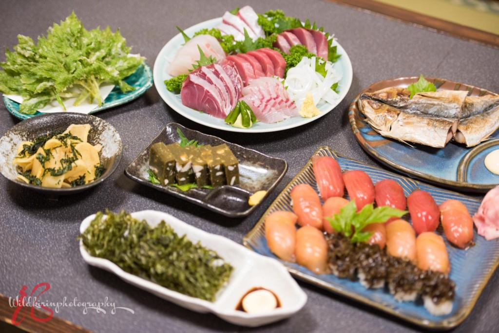 八丈島の郷土料理・島寿司
