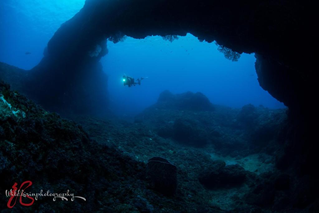 八丈島のダイビングポイント八重根