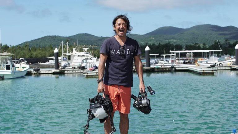 審査員を務める水中写真家・鍵井靖章さん